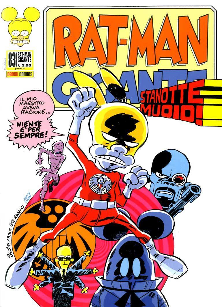 Fumetto – Panini Comics – Rat-Man Gigante #83