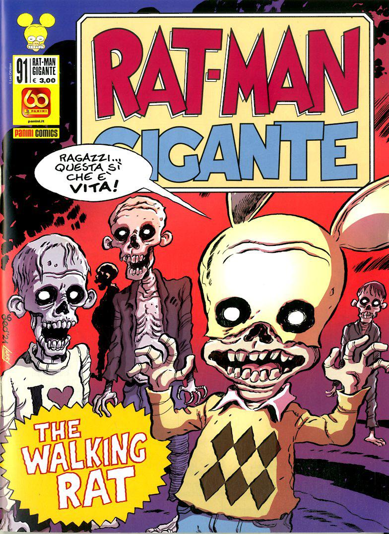 Fumetto – Panini Comics – Rat-Man Gigante #91