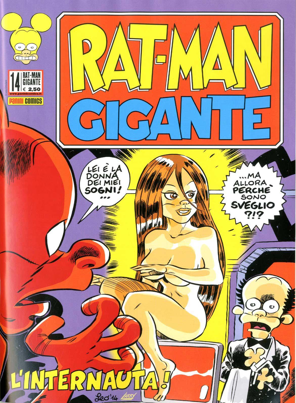Fumetto – Panini Comics – Rat-Man Gigante #14
