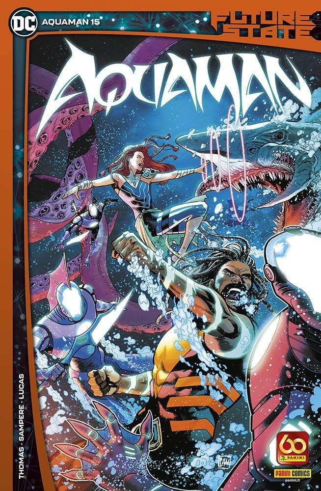 Fumetto – Panini Dc – Aquaman #15