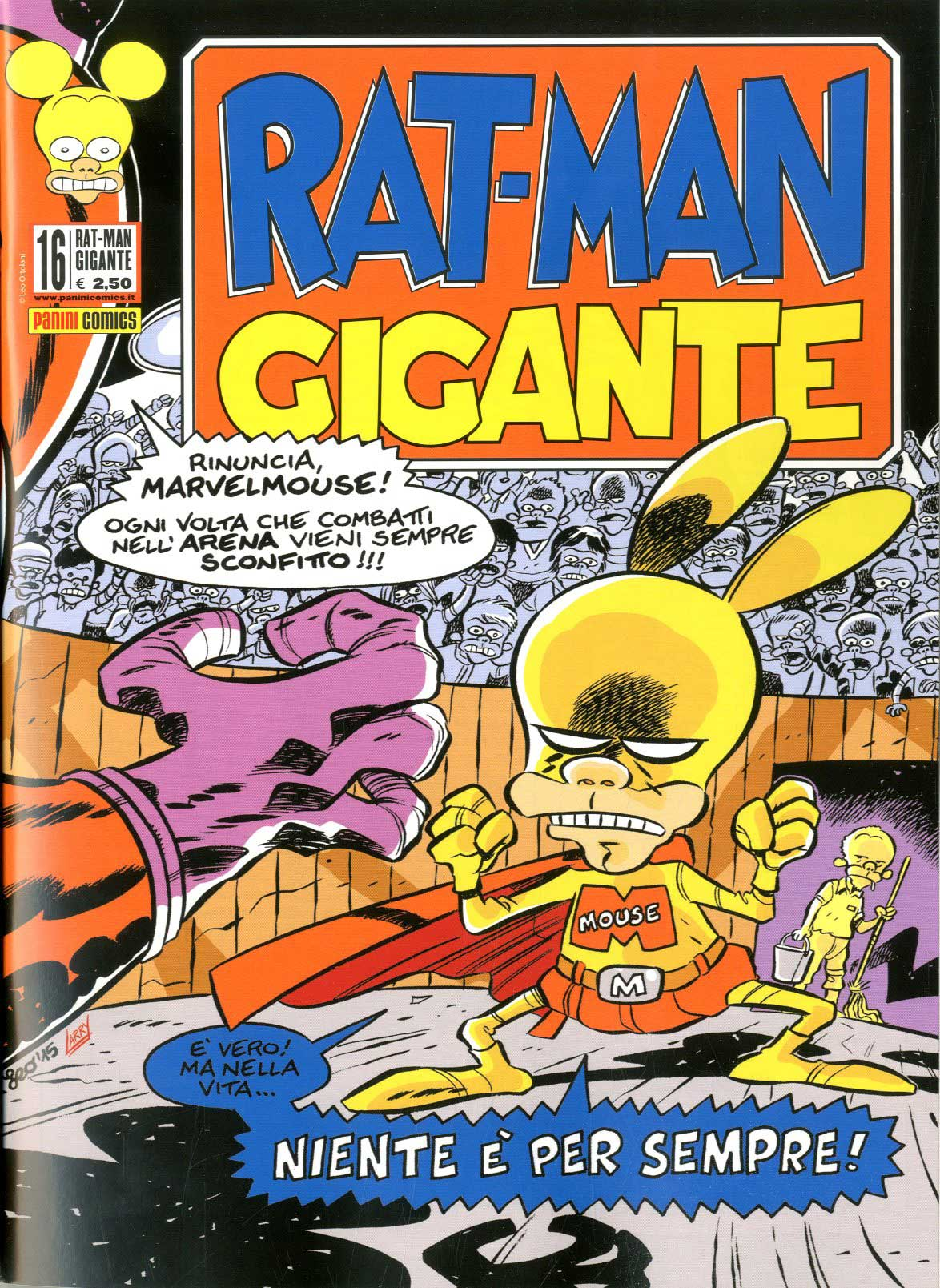 Fumetto – Panini Comics – Rat-Man Gigante #16