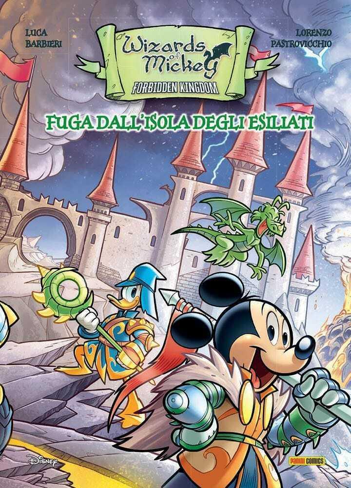 Fumetto – Panini Disney – Wizard of Mickey – Fuga ...