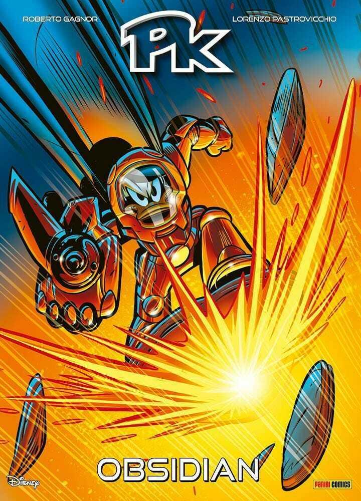 Fumetto – Panini Disney – PK Obsidian – Topolino F...
